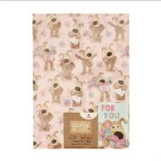 Boofle Wrapping Paper & Gift Tag
